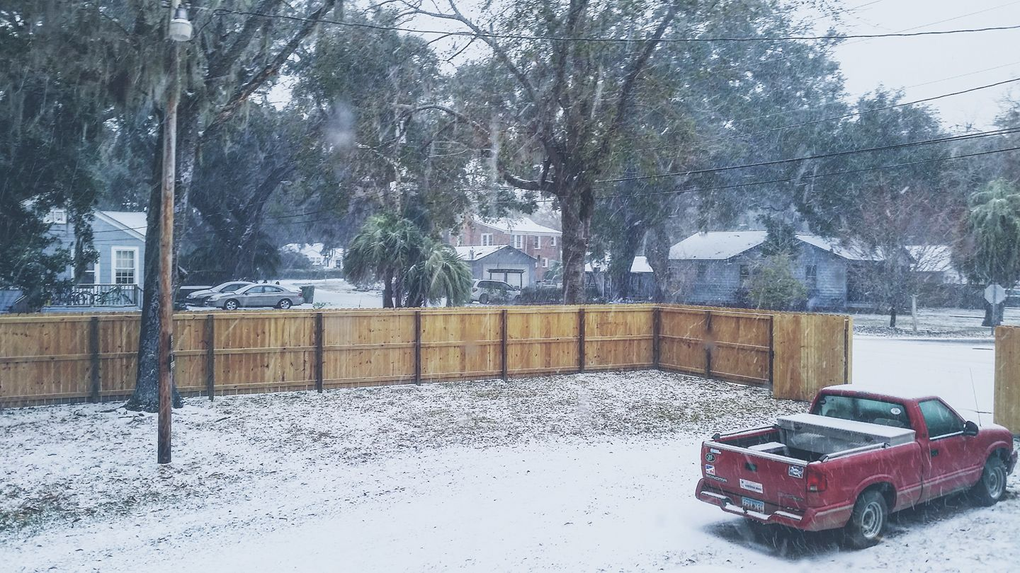 Snow in Georgetown (Submitted by Jamie Sanderson)<p></p>