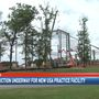 Construction underway for new USA practice facility