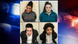 Four charged in connection to robbery at Lebanon trailer park