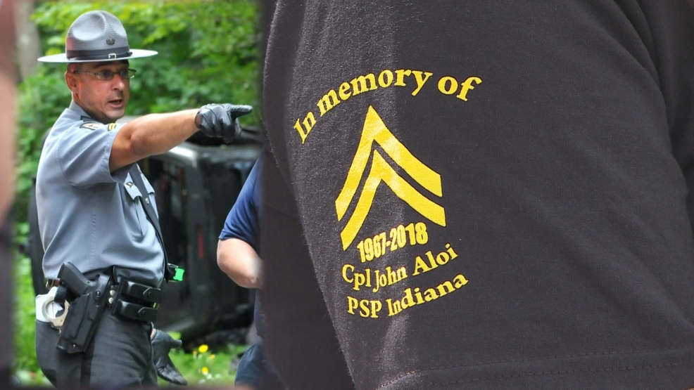 Annual memorial motorcycle ride benefits state police