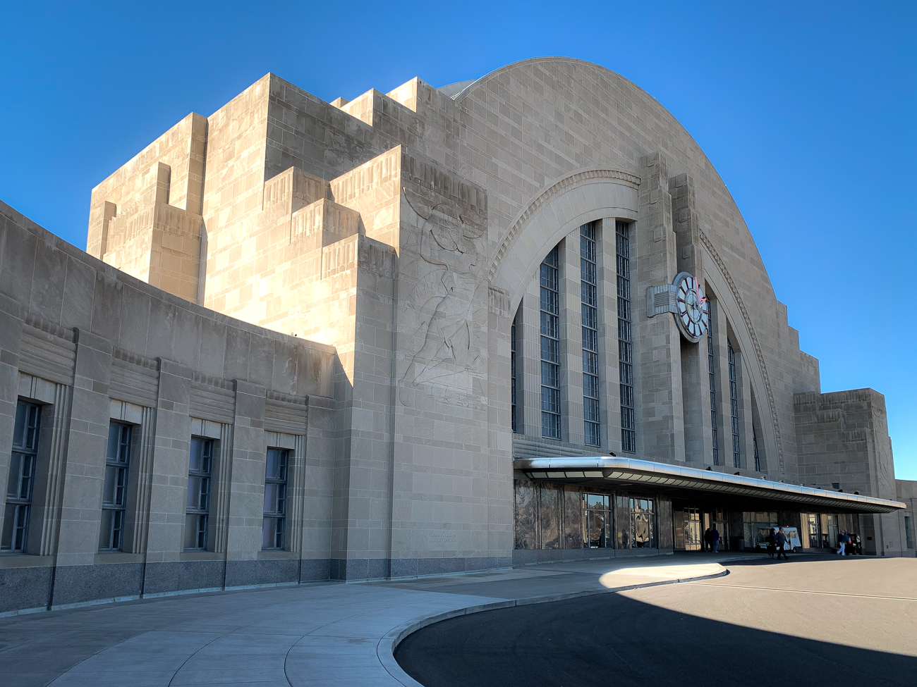 Union Terminal is now primarily home to the Cincinnati Museum Center, but long before it ever housed dinosaur bones, trains were its priority. While trains still enter and depart the station every day, it no longer sees the volume of passenger trains it once did. / Image: Phil Armstrong, Cincinnati Refined // Published: 1.17.20