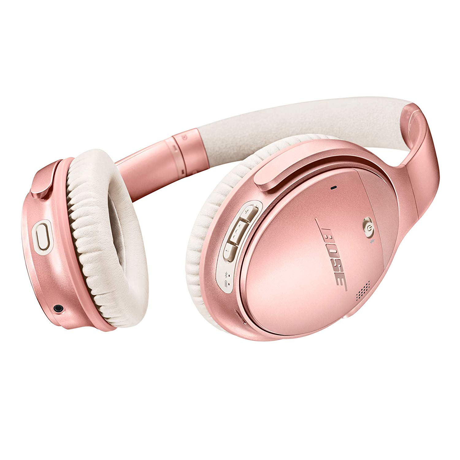 <p>Forget that these are rose gold and cool AF - they have real benefits. Noise-rejecting dual-microphone system for clear sound and voice pick-up and hassle-free Bluetooth pairing, personalized settings, access to future updates, and more through the Bose connect app. $349 @ Amazon. (Image: Amazon){&nbsp;}</p><p></p>