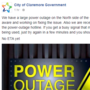 City of Claremore gets power back on quickly after 'large' outage