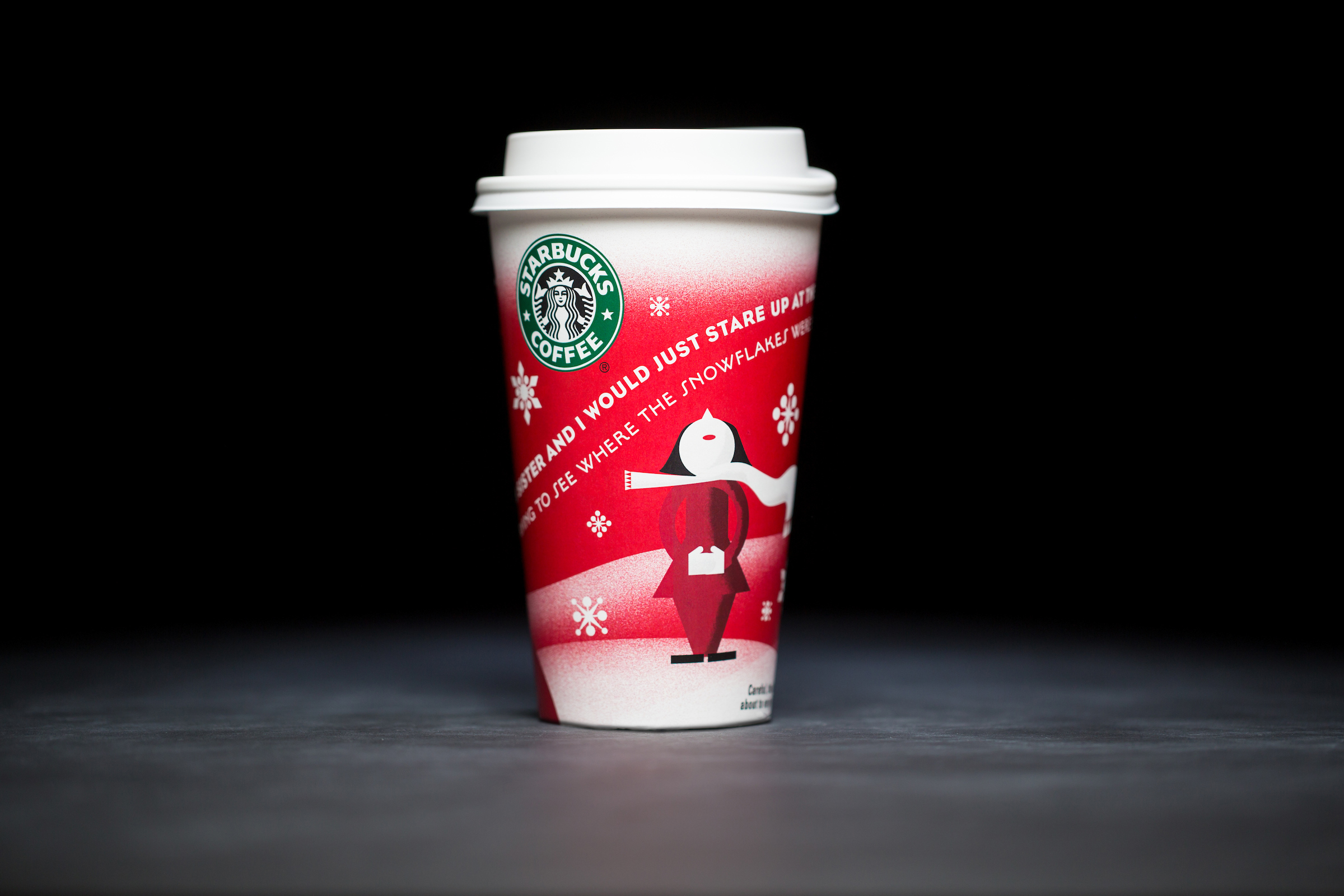 2010: For 20 years, Starbucks have released a range of holiday cup designs, most of them based around their world famous red cup. It's not easy to find the very first Starbucks holiday cups, which made their debut in stores in 1997. Few were saved, and electronic design files were lost in an earthquake in 2001. Even an Internet search is unyielding, with the cups having made their arrival long before the first selfie. But, we have them here! Click on for a photos of all 20 holidays cup designs. (Image: Joshua Trujillo/Cover Images)