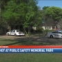 Man in hospital after being shot at Public Safety Memorial Park in Midtown