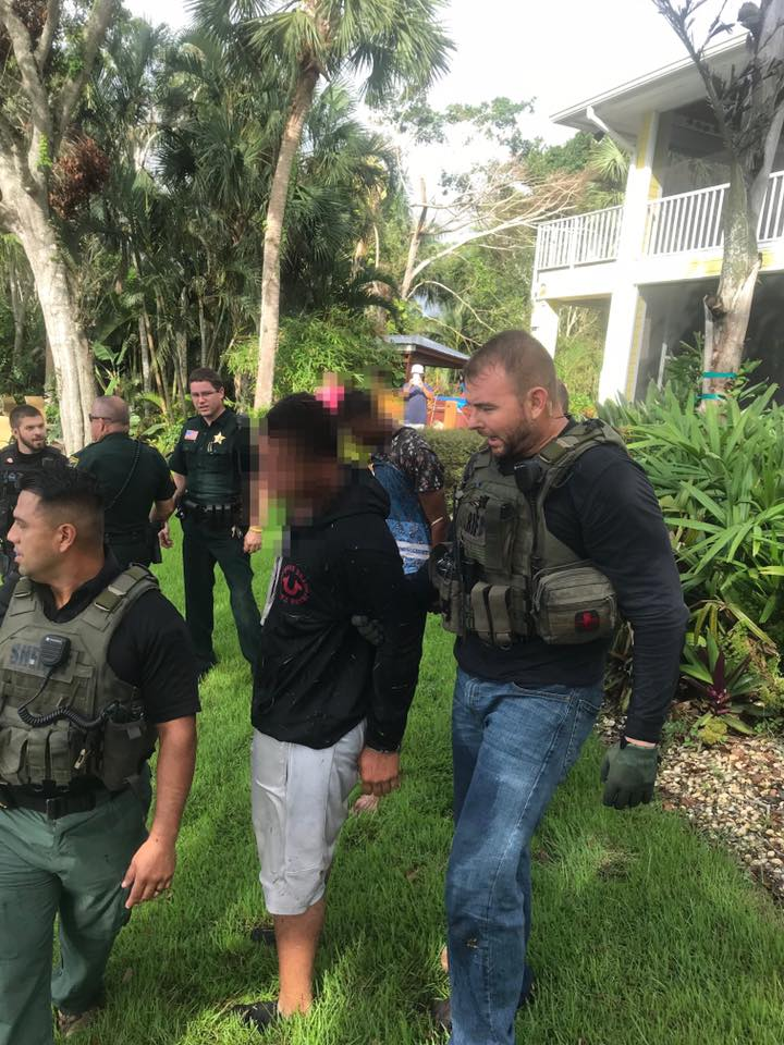 2 men connected to armed carjacking in Palm City located. (MCSO)