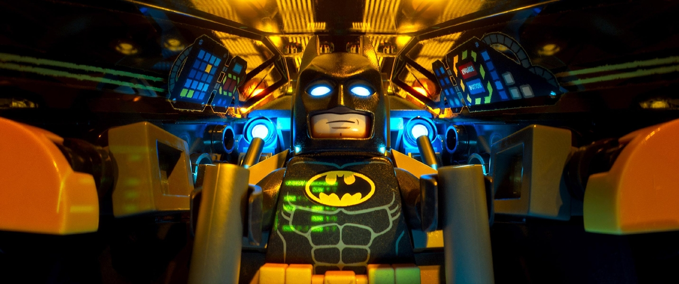 "LEGO® minifigure Batman (WILL ARNETT) in the animated adventure ""The LEGO Batman Movie,"" from Warner Bros. Pictures."