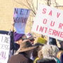 "Locals ""Battle for the Net"" in protest for net neutrality"