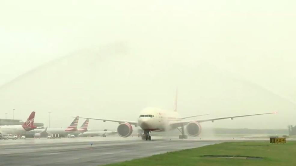 iad airport to india flights