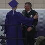 Dixon school resource officer honored at graduation ceremony