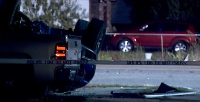 Breaking: 2 dead, 2 injured in shooting and crash, police searching neighborhood for 1 (Photo: KUTV)