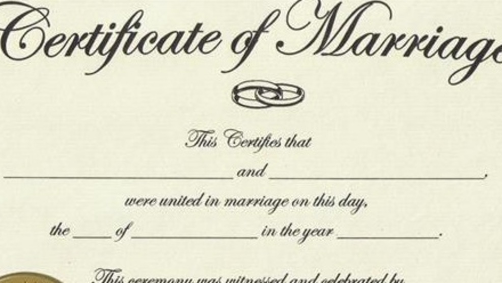 Vintage Marriage Certificate Washoe County Nevada: Washoe County Will Be Keeping Your Marriage Certificate On