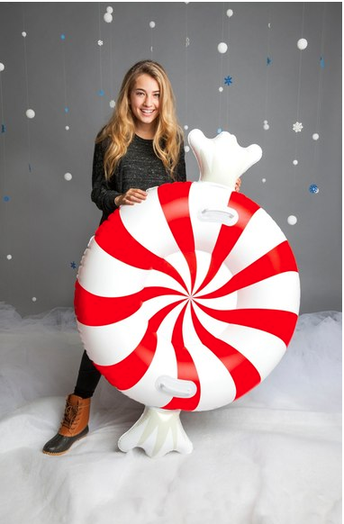 BigMouth Inc. Giant Peppermint Twist Snow Tube ($24.99). Find on nordstrom.com. (Image: Nordstrom)