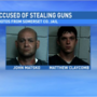 2 Boswell men accused of stealing 4 guns from Somerset County house