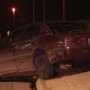 Metro pursuit ends in parking lot crash, arrest