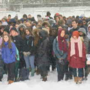 Brighton High School students walk out for gun law change
