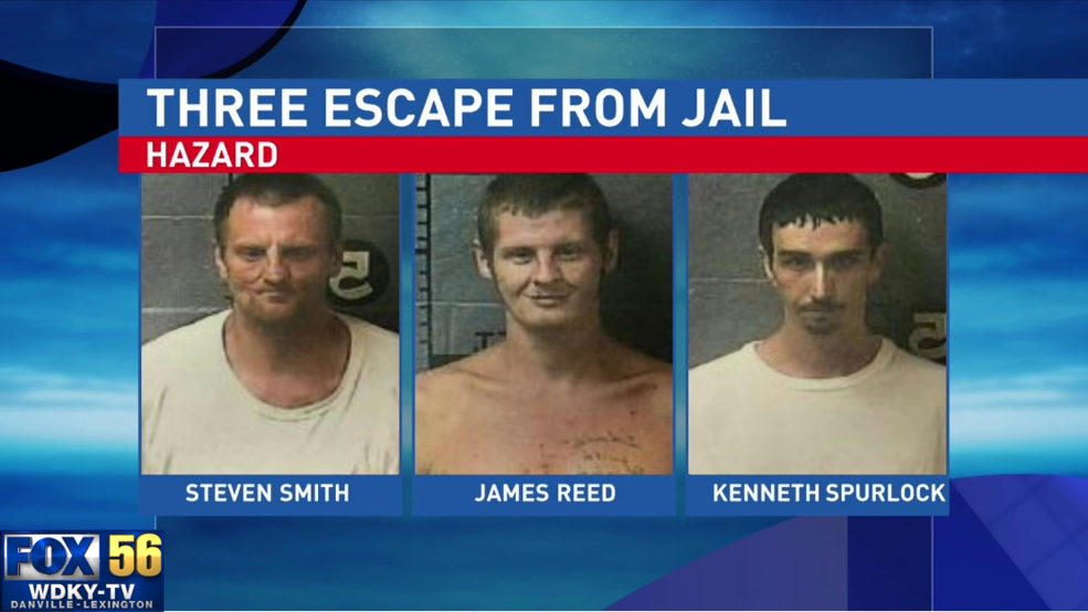 Four inmates escape jail in Hazard, three still missing | WDKY