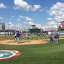 LOGAN Center All-Stars play with South Bend Cubs