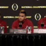 WATCH: Alabama post-championship news conference