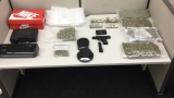 Baltimore couple arrested on weapon and drugs charge