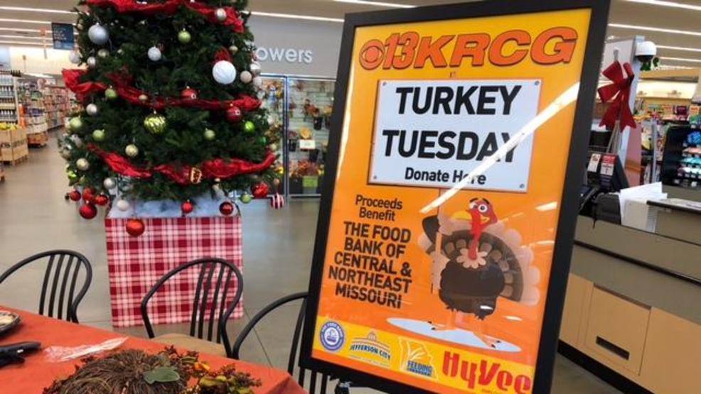 turkey tuesday krcg 13 hy vee partner to feed needy families - Hyvee Christmas Eve Hours