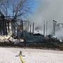 Fire crews respond to Shelby County, MO house fire