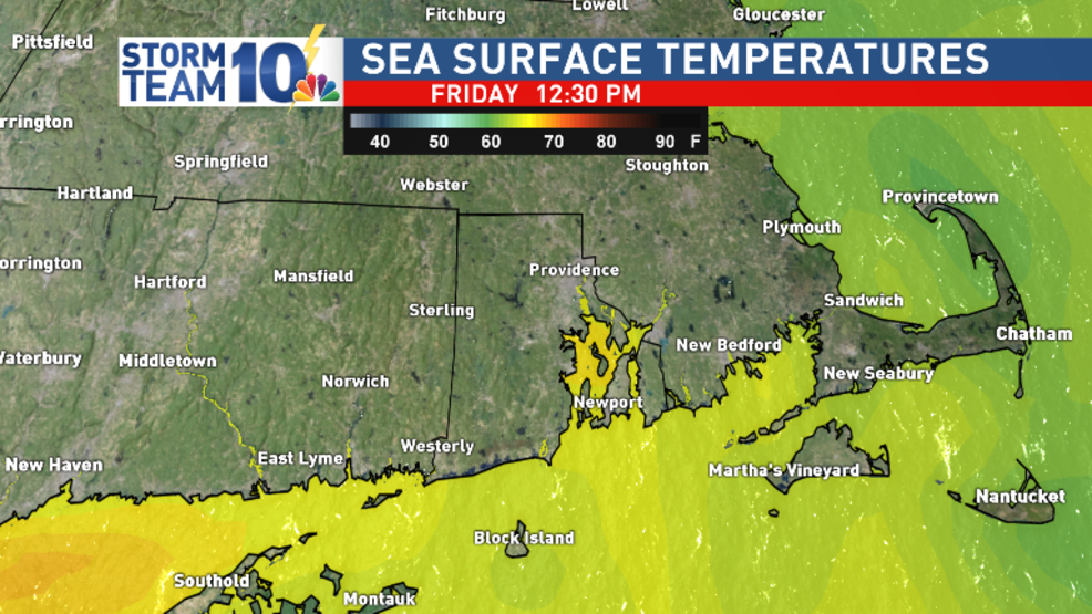 Water temperatures are still mild for the last weekend of summer