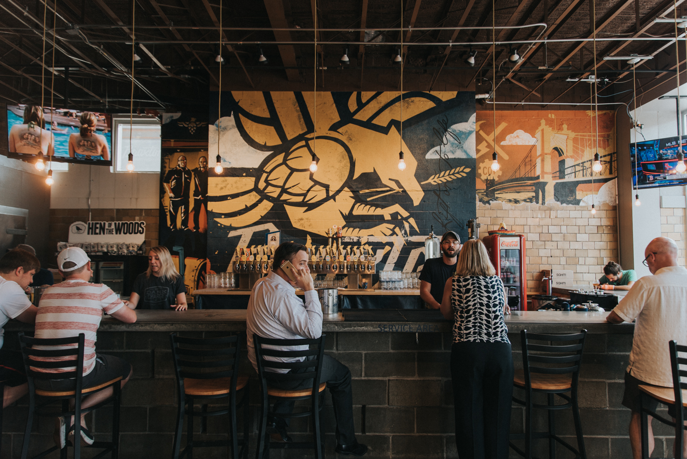 BAR: Braxton Brewery / NEIGHBORHOOD: Covington  / ALLURE: The beer is brewed on site, so it's extra fresh, and you can bring your dog(s)! / RECOMMENDED ORDER: Summertrip (a passion fruit Berliner weirs style ale) / ADDRESS: 27 W 7th St. (41011) / IMAGE: Brianna Long // PUBLISHED 7.1.17