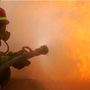 Local responders get intense fire training at McDowell Tech