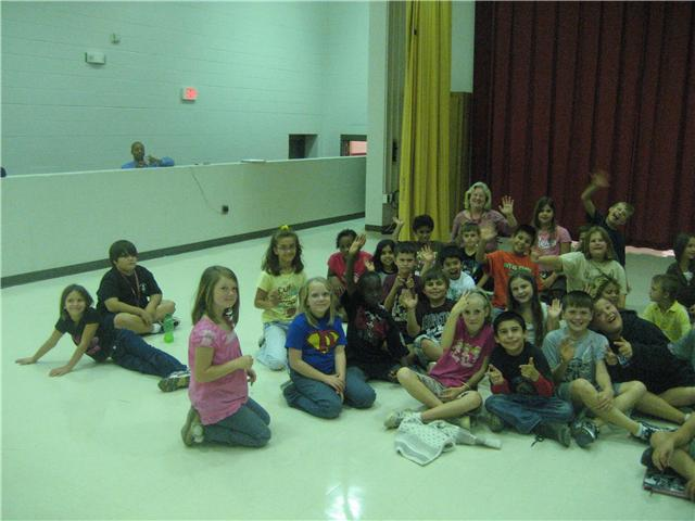 10/13/10...Pelion Elementary School Fourth Graders