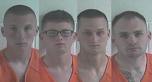 Police: 4 Kentucky National Guard soldiers facing rape, sexual abuse, sodomy charges. (Kentucky State Police)