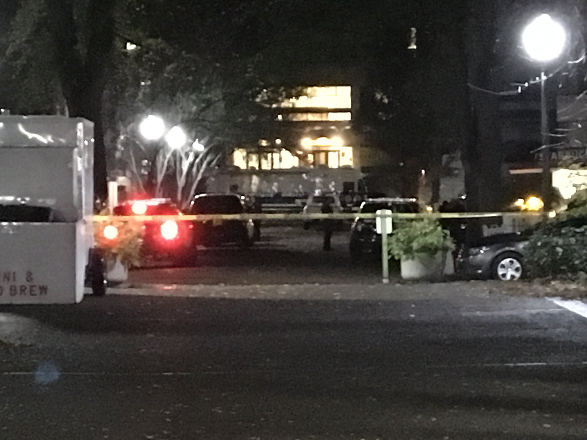Police officers are conducting a death investigation on the Portland State University campus. They said they responded to a report of a shooting and found one person dead the morning of Nov. 7, 2017. (SBG photo){&amp;nbsp;}<p></p>