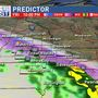 Latest dry spell ends with rain, wintry precipitation to start the weekend
