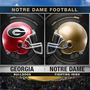 Notre Dame faces Georgia for first time in decades