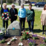 Blue Star Memorial Marker dedicated along Kalkaska Area Recreational Trail