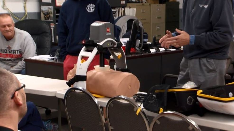 belmont county firefighters try out new cpr device wtov