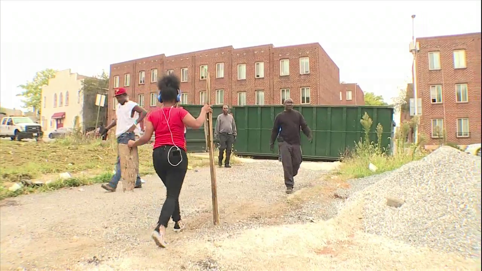 Hundreds cleanup the streets of Baltimore