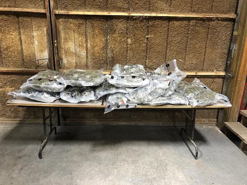 Beautiful Approximately 66 Pounds Of Marijuana Were Found In A Vehicle During A Jan.  11 Traffic