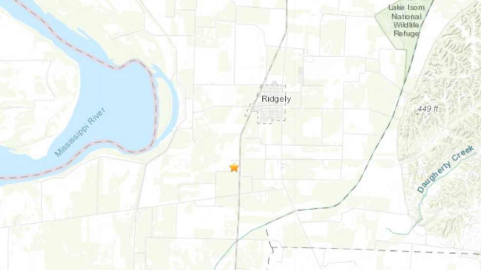 16 earthquakes strike Tennessee town in three days