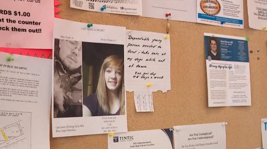 Investigators searched the home of Riley Powell's mother in January (Photo: KUTV)
