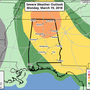 "The Weather Authority: ""Enhanced Risk"" of severe storms for Monday"