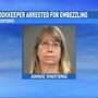 Bookkeeper embezzles over half million dollars from local business
