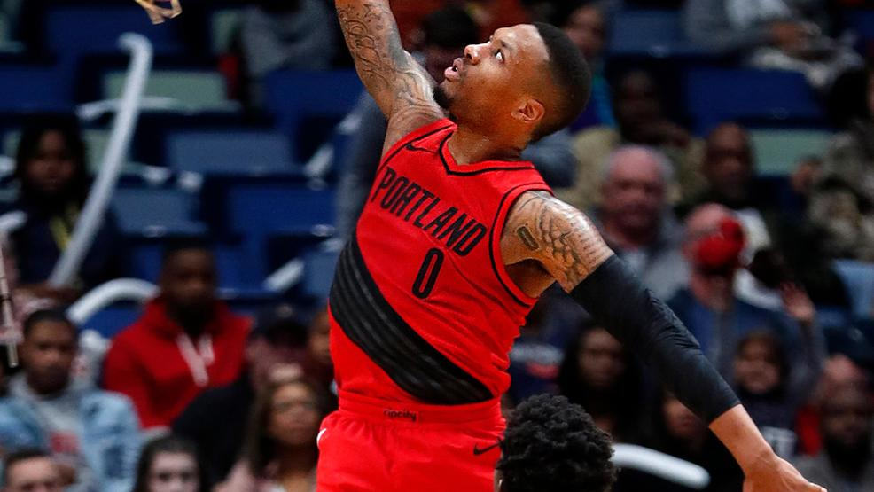 on sale 94208 e96d2 Damian Lillard selected to NBA Western Conference All-Star ...