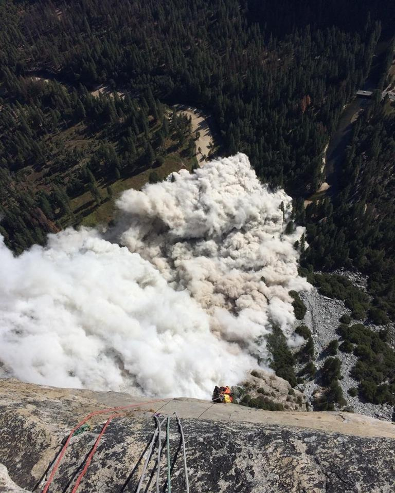 Reports of a second rockslide on El Capitan in Yosemite National Park. (Courtesy: Ryan Sheridan)