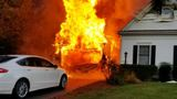 No one injured after fire sets Virginia home ablaze