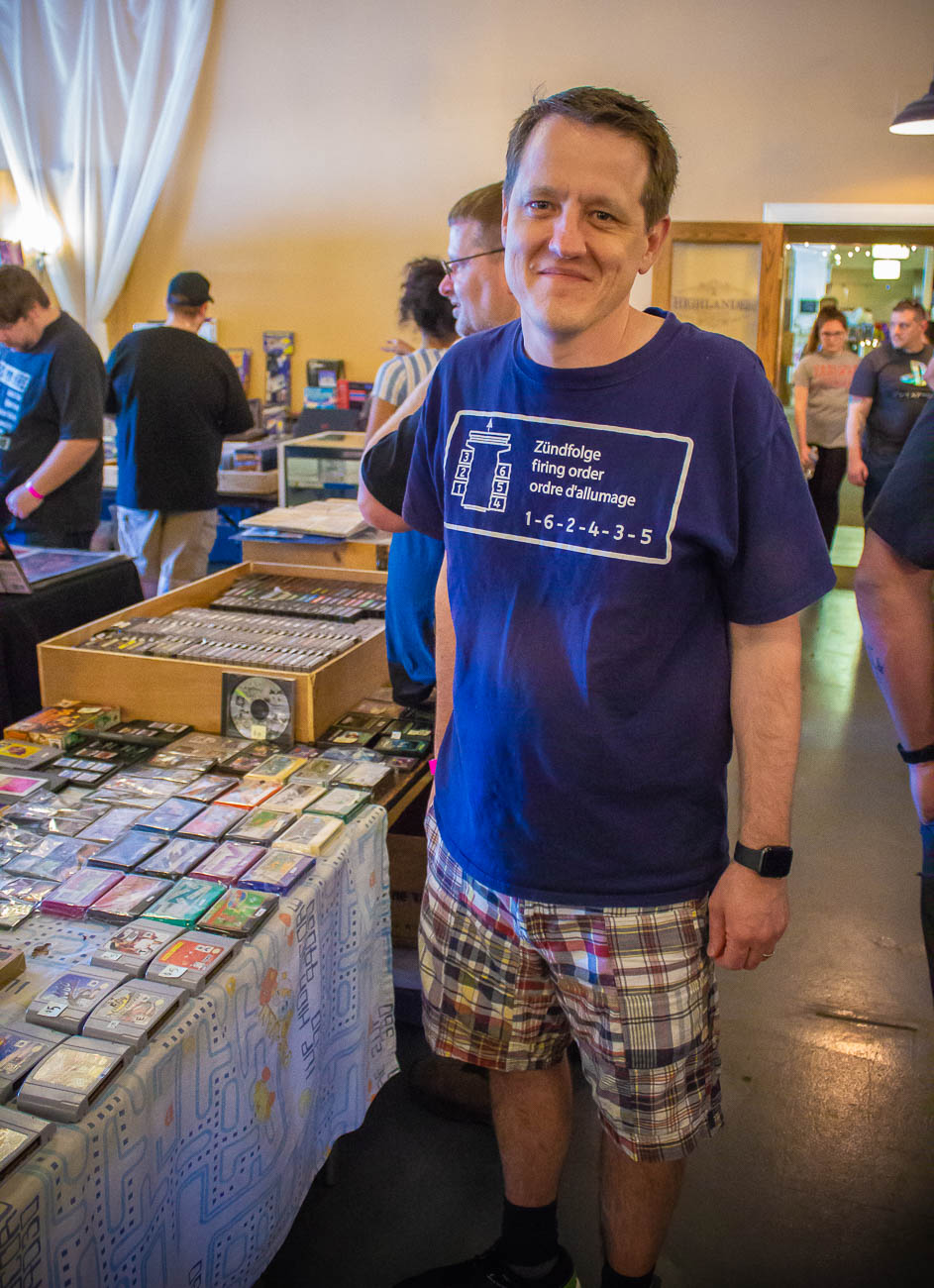 Bill Augustine is the original coordinator of the CinciClassic Expo from when it came to Cincinnati in 1997.{ }/ Image: Katie Robinson, Cincinnati Refined // Published: 5.19.19