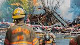 Firefighter thrown 20 feet by Portland gas explosion