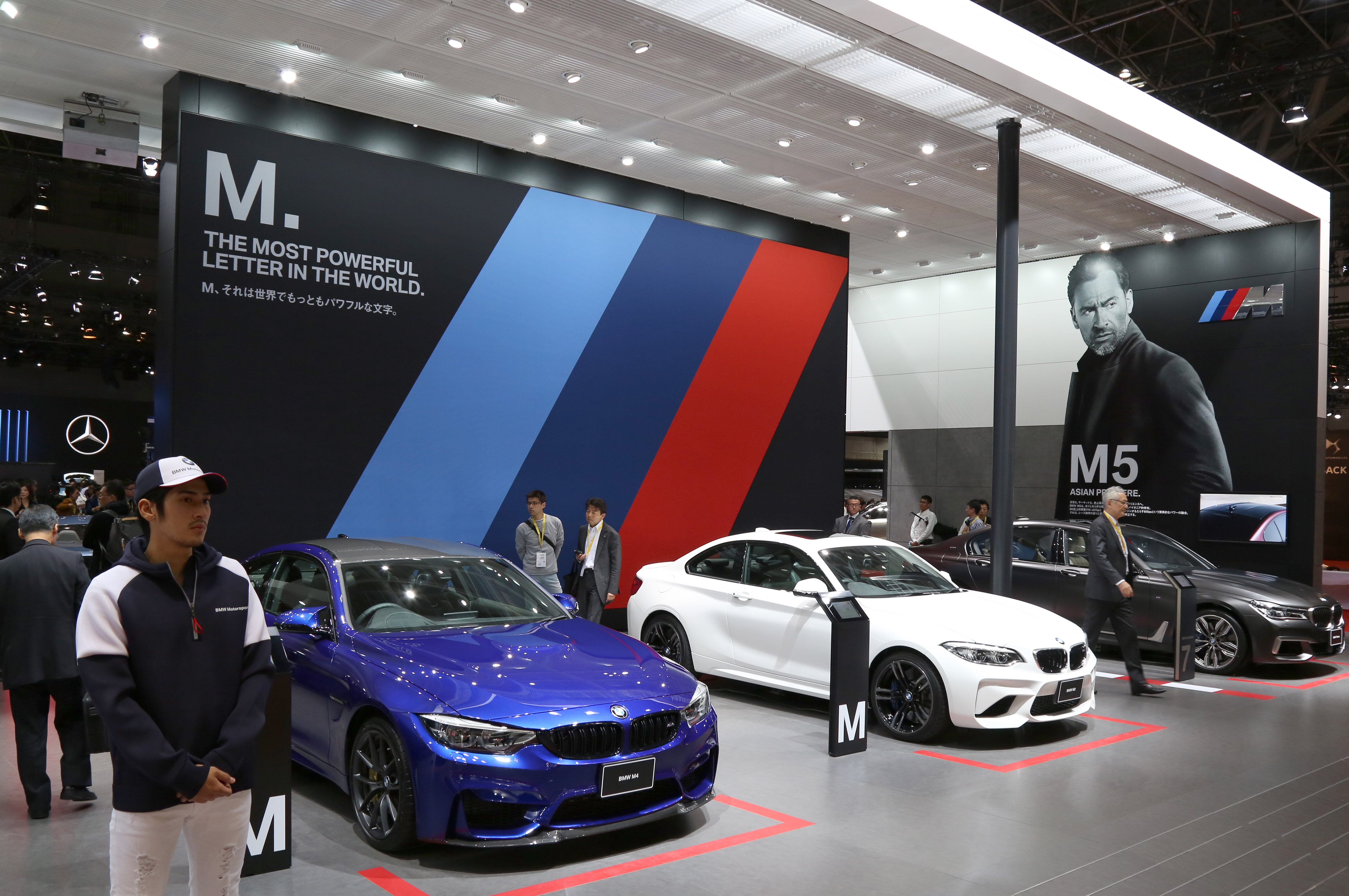 Tokyo Motor Show 2017  Featuring: BMW M-sports Where: Tokyo, Japan When: 25 Oct 2017 Credit: Yukio Tomita/Future Image/WENN.com  **Not available for publication in Germany**