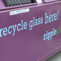 City introduces 2 new places to recycle glass