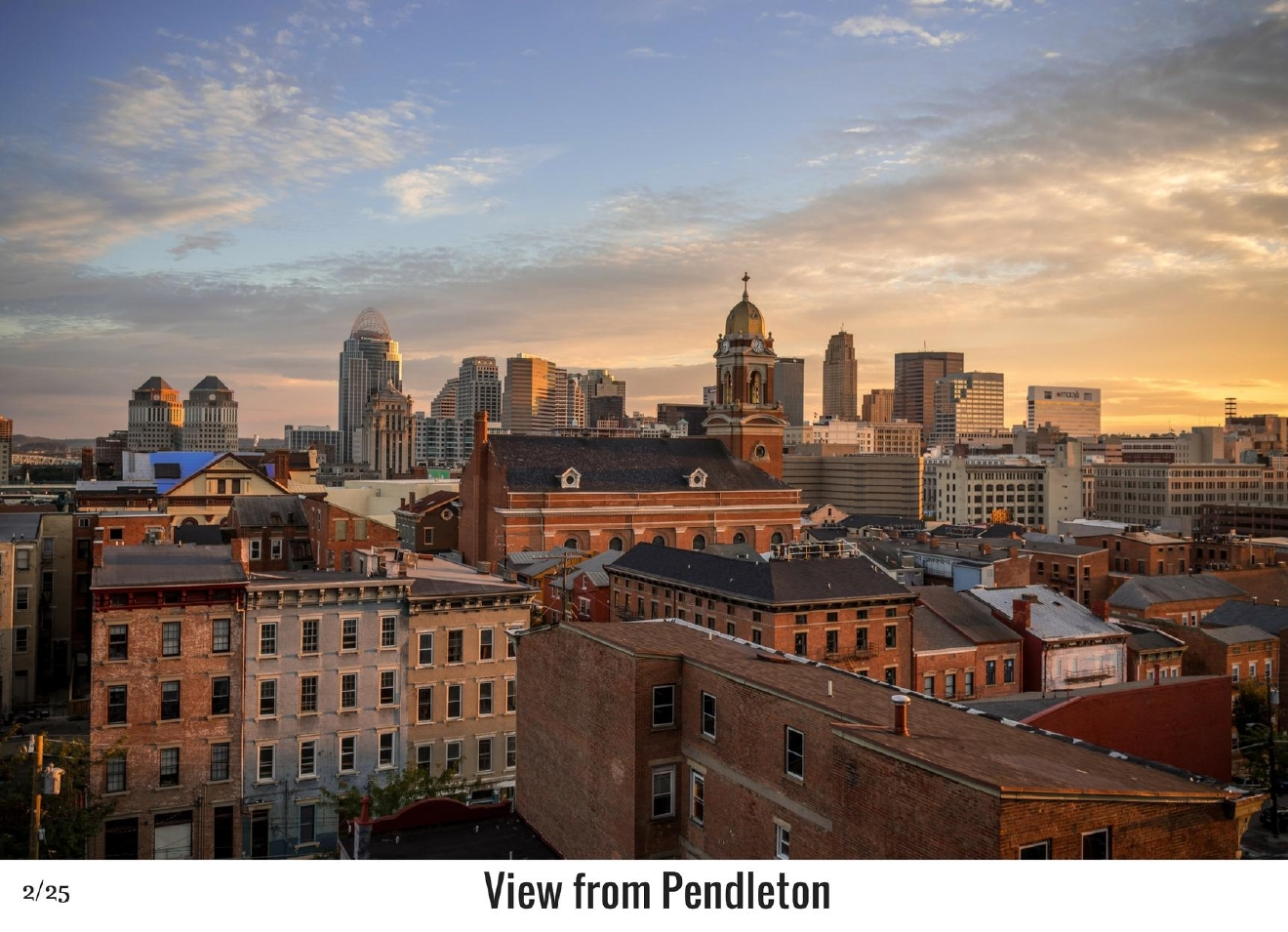 WHAT: The neighborhood of Pendleton / WHERE: East of Over-the-Rhine / Image: Phil Armstrong, Cincinnati Refined / Published: 10.27.16